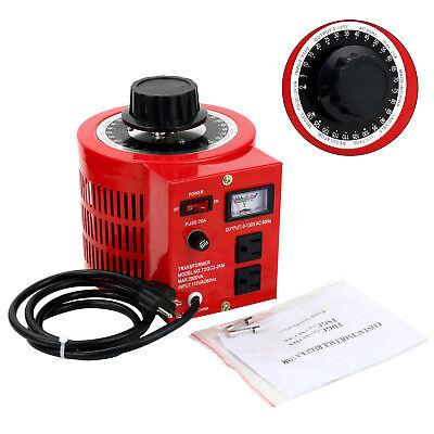 Variable Transformer Powerstat Ac Voltage Regulator 2000w 20amp 110v Usa