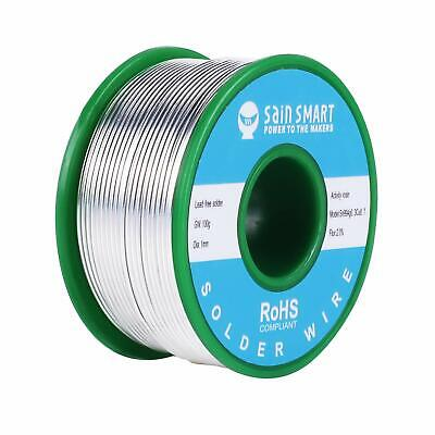 Sainsmart 1mm Lead Free Solder Wire For Electrical Solderding Sn99 Ag0.3 Cu0.7