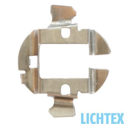 Hela-1 H7 HID Xenon KIT Nachrüstsatz Adapter Lampen Fassung Sockel Audi BMW MB 1