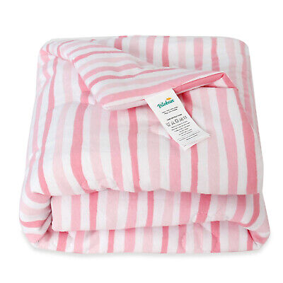 Baby Blankets for Girls Jersey Cotton Infant Bedding Quilt 30''x40'' Pink Warm