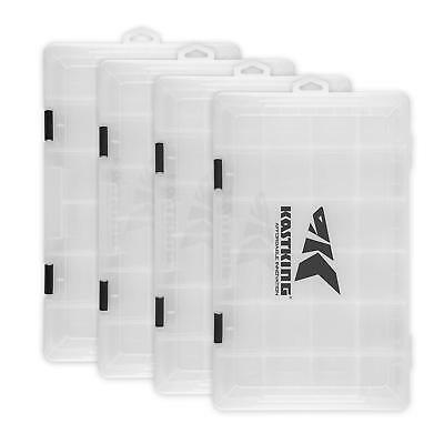 KastKing Tackle Box  4 Packs Plastic Utility Tray Tackle Storage 3600 & 3700