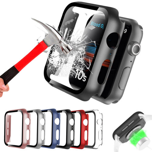 Full Screen Protector Hard Cover Cases For iWatch Apple Watch Series 4/5/6/SE