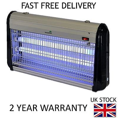 VERMATIK ELECTRIC FLY ZAPPER 30W INSECT BUG KILLER UV LIGHT FLY CONTROL