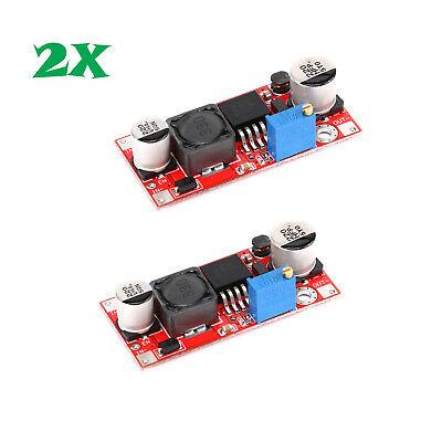 2pcs Dc-dc 5v-48v Adjustable Step-up Boost Power Converter Module Xl6009 Us