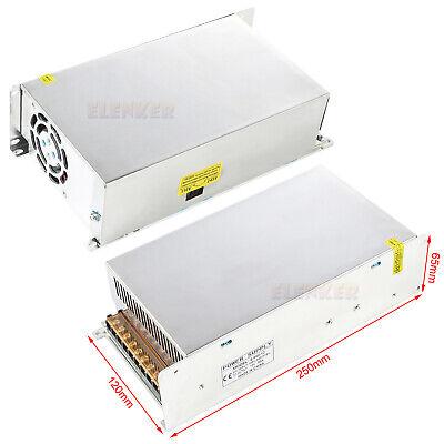 2x 600w Dc 12v 50a Regulated Transformer Power Supply Driver For Led Strip Light