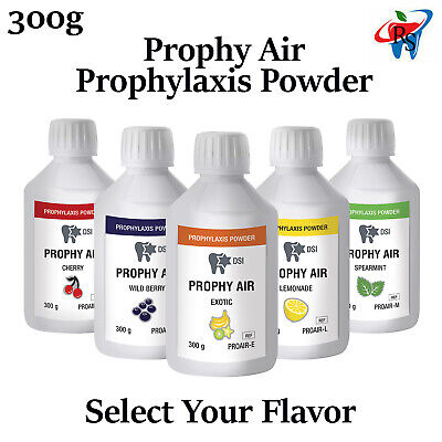 Dental Prophy Air Prophylaxis Powder Polish Teeth Remove Stain 300g Selection