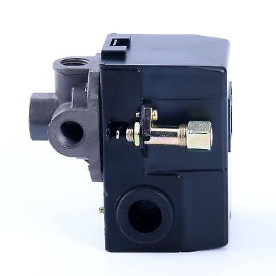 Lefoo Pressure Switch For Air Compressor 95-125 Psi 4 Port Wunloader