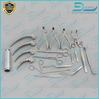 29 Pcs Set Of Ent Surgical Veterinary Diagnostic Surgery Instruments