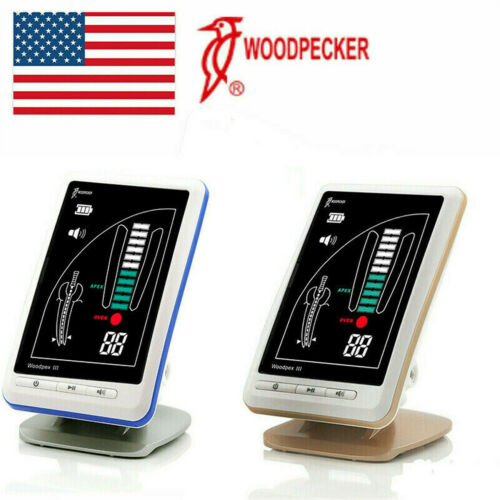 Woodpecker Original Dental LCD Root Canal Endodontic Apex Locator Woodpex III