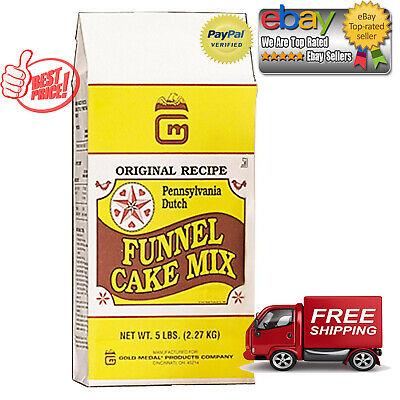 Gold Medal Pennsylvania Deluxe Dutch Funnel Cake Mix 5lb Ea (30 lbs Total) 6 (Gold Medal Funnel Cake Mix)