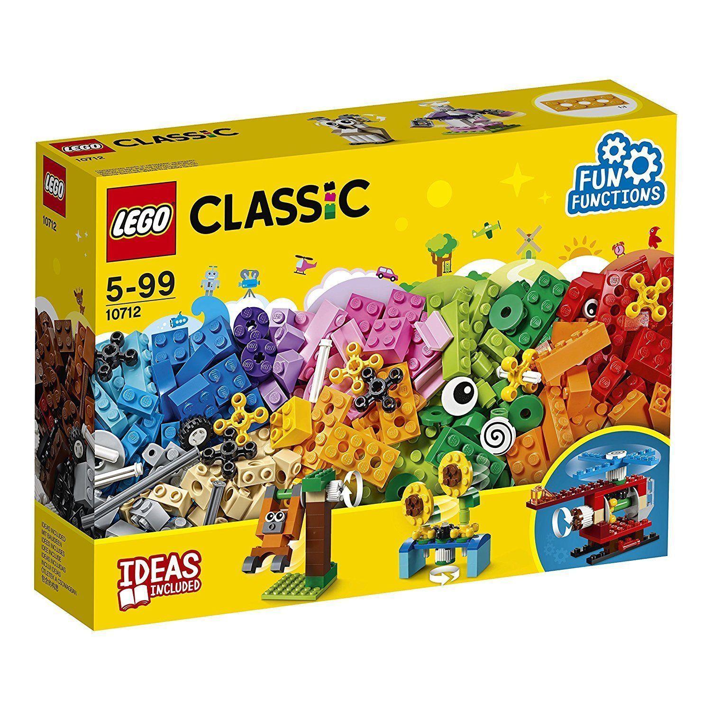 LEGO 10712 CLASSIC Mattoncini e Ingranaggi