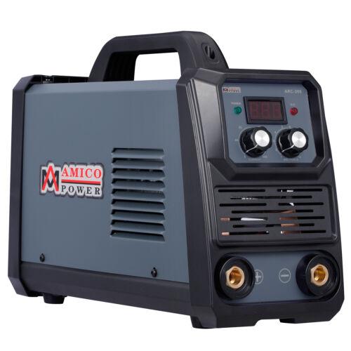 Amico ARC-200, 5-200 Amp Stick Arc TIG Welder, 100-250V Welding, 80% Duty Cycle.