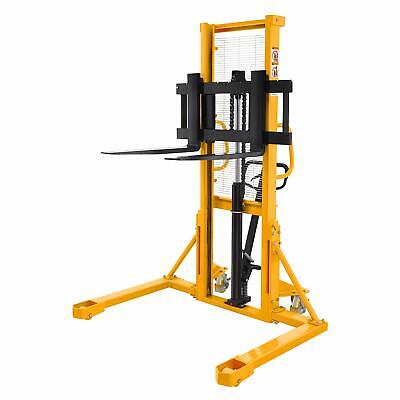 Sovans Manual Pallet Stacker Lift Height 63 2200lbs Cap. With Straddle Legs