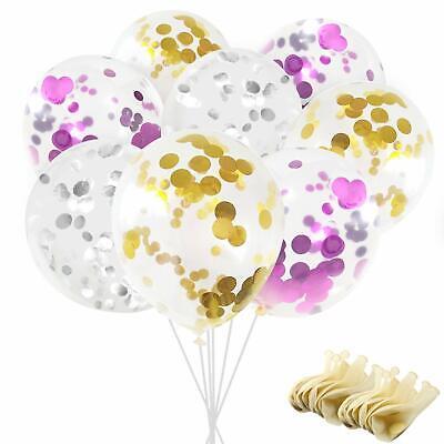 Clear Helium Balloons (30pcs 12