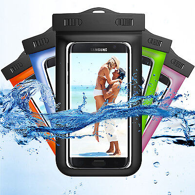 Dry Pack Cell Phone Cases (Swimming Waterproof Underwater Pouch Bag Pack Dry Case For iPhone Cell Phone )