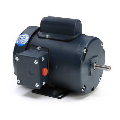 Leeson Electric Motor 102018.00 13 Hp 1725 Rpm 1-ph 115208-230 Volt 48 Frame