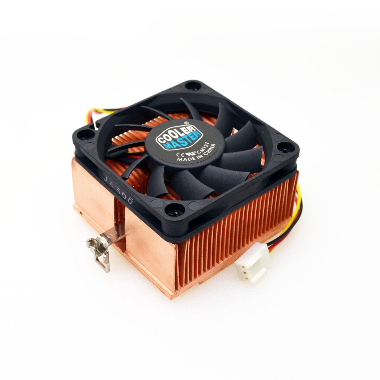 StarTech.com 1U 60x10mm Socket 7/370 CPU Cooler Fan w/ Coppe