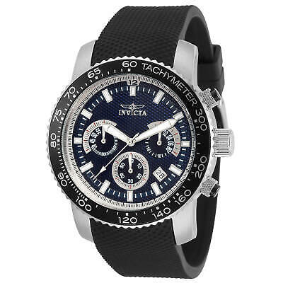 Invicta Men's Watch Specialty Quartz Chronograph Black Polyurethane Strap 30773