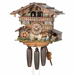 Cuckoo Clock 8-day-movement Chalet-Style 13 by Hekas
