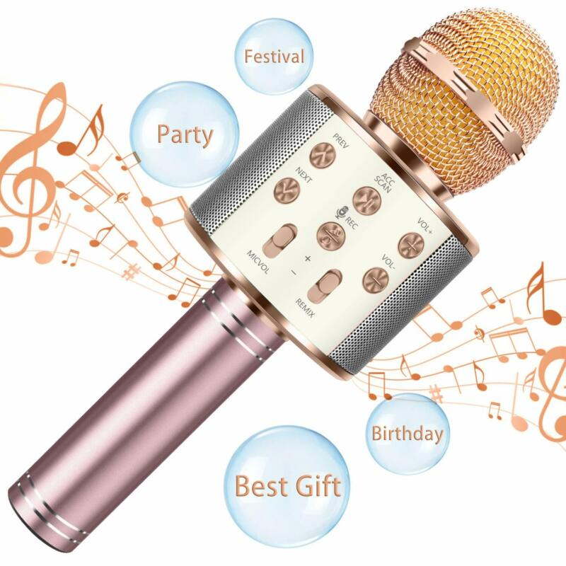 Bluetooth Microphone For Kids Birthday Gifts Girls Toy For A