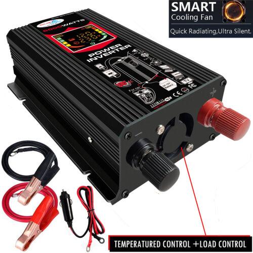 как выглядит 6000W Modified Sine Wave Power Inverter 6000 Watt DC 12V TO AC 220v-240V DISPLAY фото