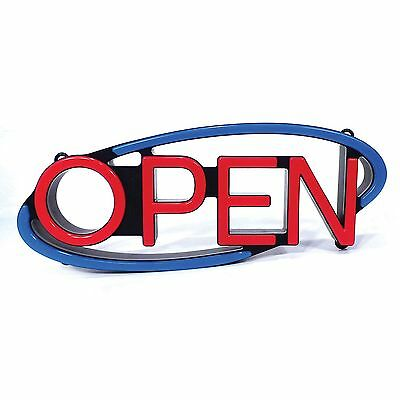 Large Mystiglo Retail Catering Remote Multi-directional Led Open Business Sign