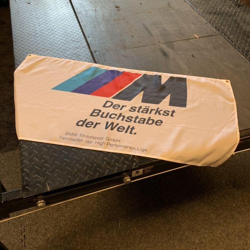 BMW M Welt Sport Banner Motorsport workshop Car Garage badge logo Display Sign