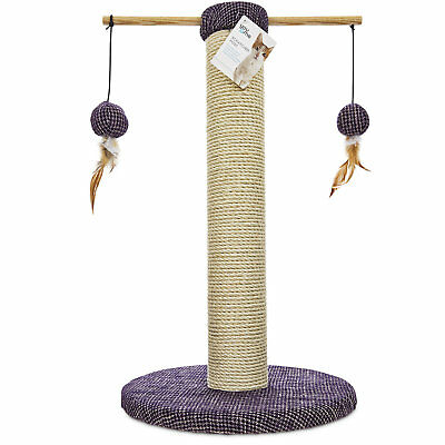You & Me Sisal Cat Scratch Post, 24""