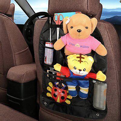 Autofay Backseat Car Organizer 2 Pack Black