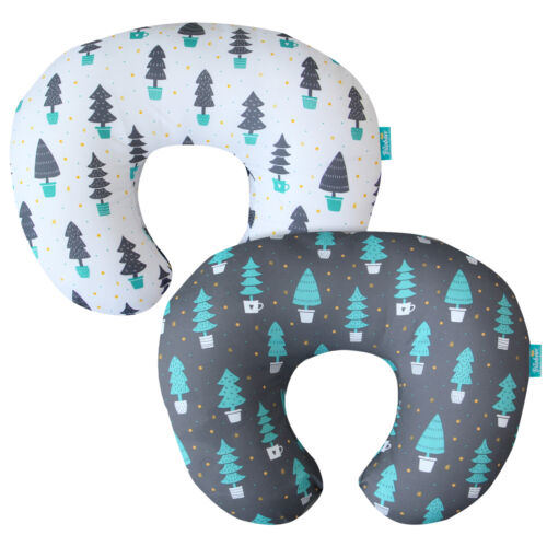 Nursing Pillow Cover Breastfeeding for Boppy Pillow Safely with Zipper 2 Pack
