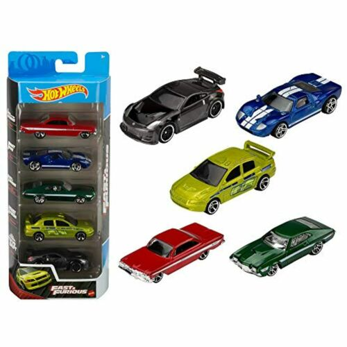 Hot Wheels Fast and Furious 5Pk