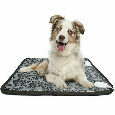 Pet Heating Pad, Electric Heated Pad Indoor Waterproof Adjustable Heat Mat Beds
