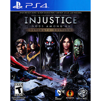 Injustice  Gods Among Us   Ultimate Edition Ps4  Factory Refurbished
