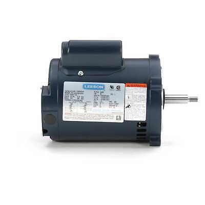 Leeson 100208.00 Electric Motor 34 Hp 3450 Rpm 1ph 115208-230 Volt 56j Frame
