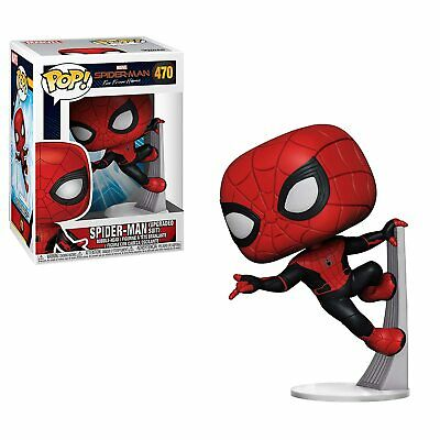 Funko Toys Pop! Marvel Spider-Man Far from Home Upgraded Suit #470 =FREE SHIP=