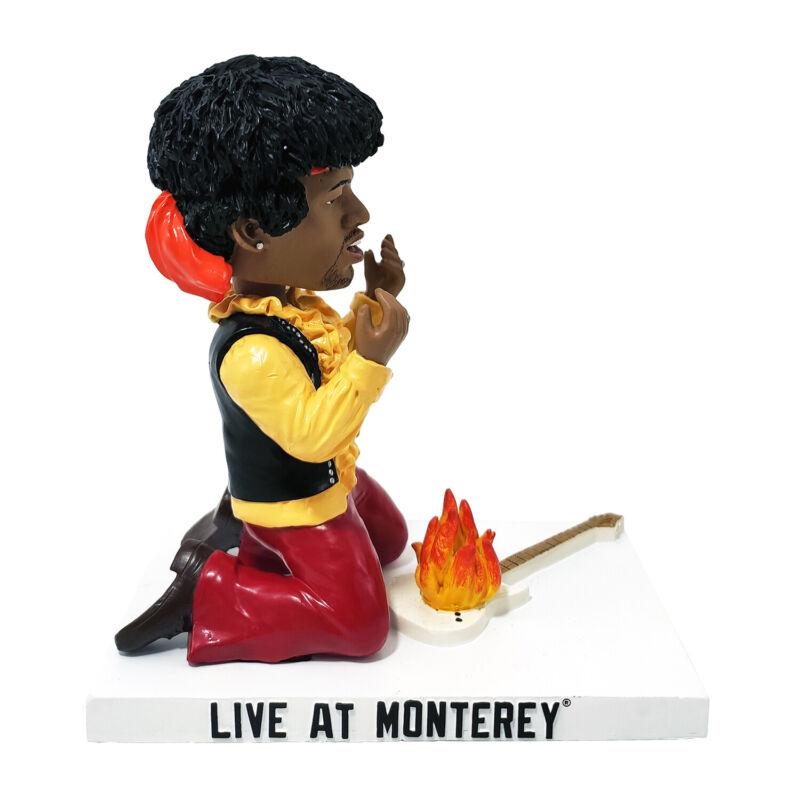 Jimi Hendrix Bobblehead Live at Monterey Kollectico
