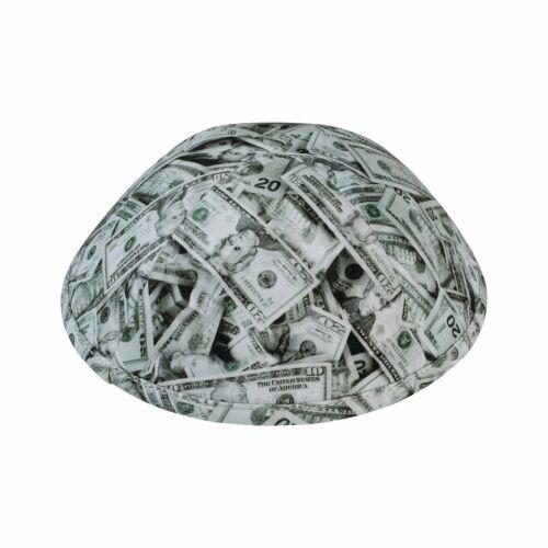 """iKippah """"U.S. Dollar"""" Yarmulke Kippah Beanie Skullcap - SIZE 3"""