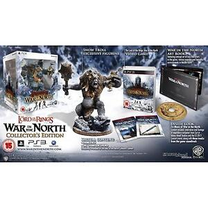 LOTR WAR IN THE NORTH COLLECTORS EDITION (PS3) [NEW]