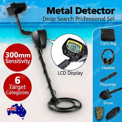 Metal Detector Gold Digger Finder Deep Sensitive Waterproof Hunter Wlcd Display
