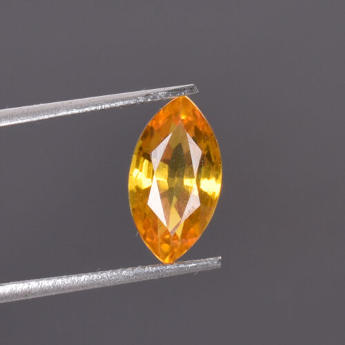 5.25 Ct Natural Oregon Flawless Sunstone Yellow Golden Color Certified Gemstone