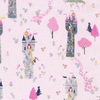 Kidz Repunzel  Princess Cotton Fabric  Timeless Treasures   By the Yard  Bfab