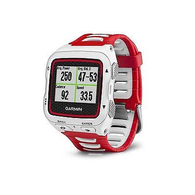 Garmin Forerunner 920XT GPS Running Bike Swim Watch White/Red 010-01174-01