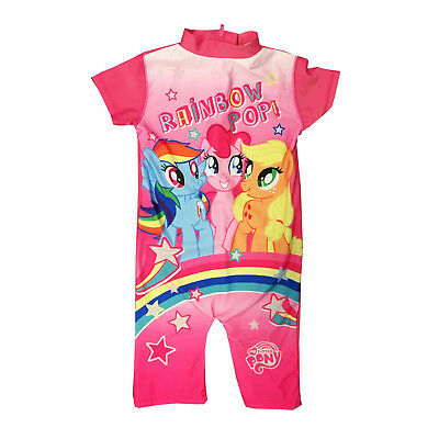93ee05da5362 My Little Pony Character Girls Uv Protection Swimsuit Surf Suit Swimming  Costume