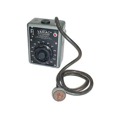 General Radio Company Variac Autotransformer W20mt3 140vac20amp