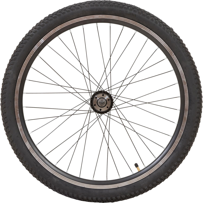 24 Zoll Zündapp MTB Aluminium Hinten oder Vorne Scheibenbremsen Laufradsatz