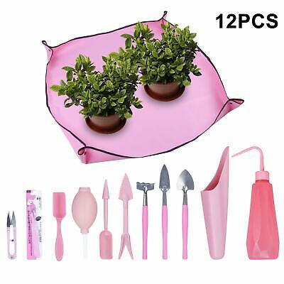Set of 12Pcs Mini Garden Succulent Kit Transplanting Tools Garden Hand Tools NEW