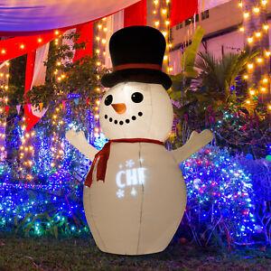 Inflatable snowman yard decor ebay for Airblown nutcracker holiday lawn decoration