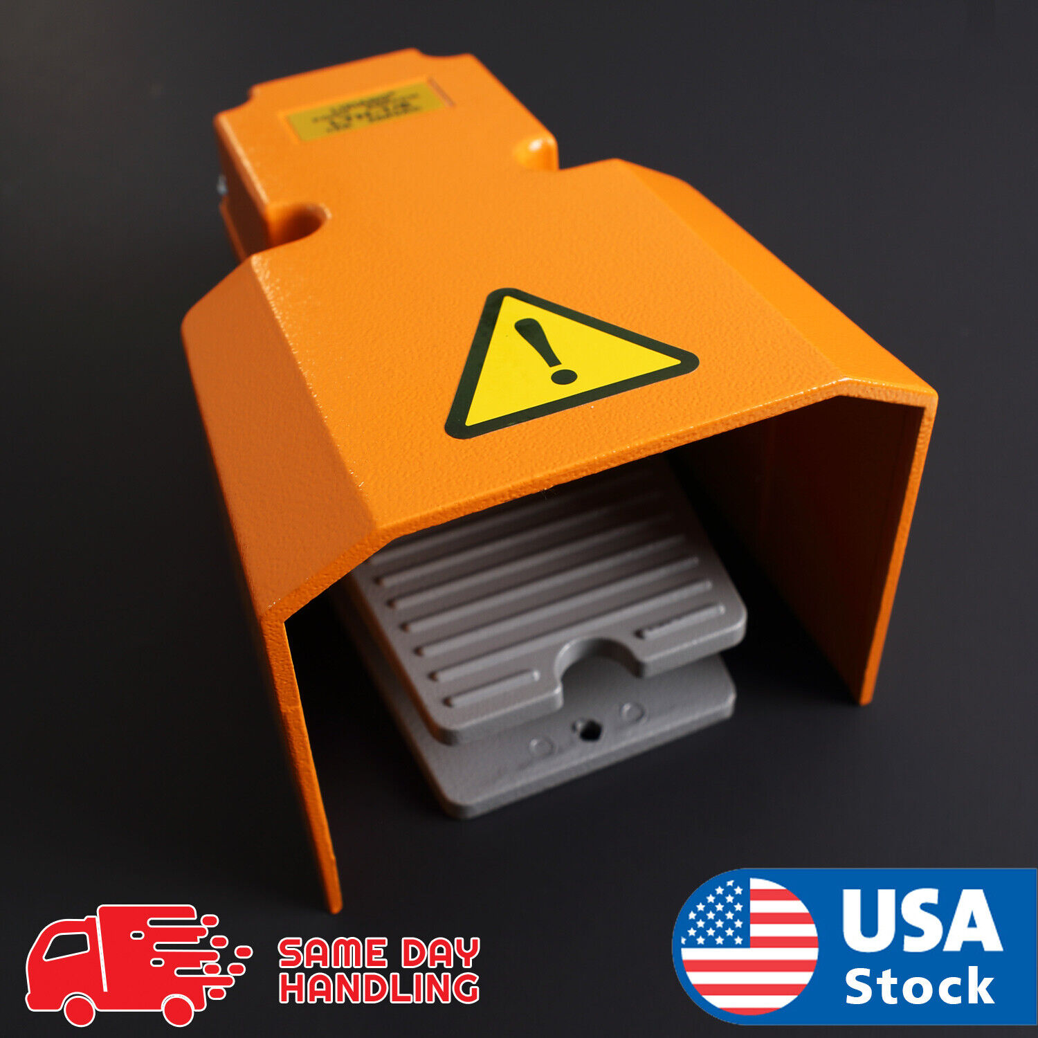 Extra Heavy Duty Foot Switch W Guard 15A 250VAC SPDT Electric Pedal Momentary Business & Industrial