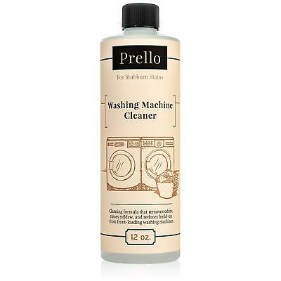 Prello Washing Machine Cleaner 12oz   HE Front Loading Washer Machine Sanitizer He Washer Cleaner