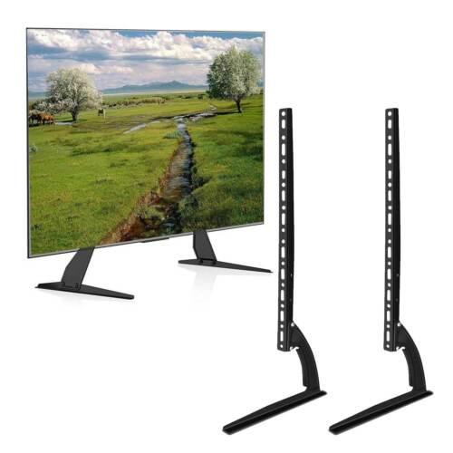 UNIVERSAL TV STAND BASE TABLETOP VESA PEDESTAL MOUNT FOR LCD